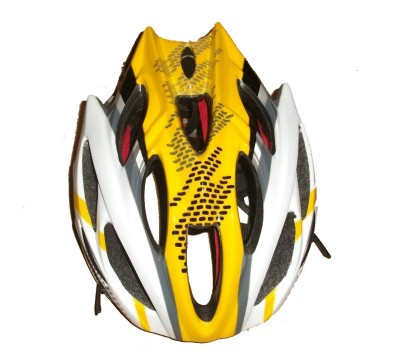 Dr.Bike USA Cycling Helmet Yellow Cycling, Skating Helmet - M