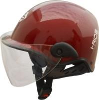 Saviour I-Ride Glossy Unisex Motorbike Helmet(Red)