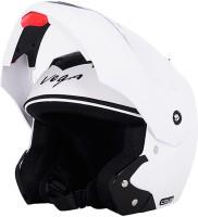 Vega Crux Motorbike Helmet - M(White)