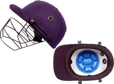 CE Sigma Match Cricket Helmet - XS(Black)