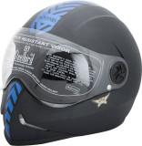 Steelbird Adonis Blue Sticker Motorbike ...
