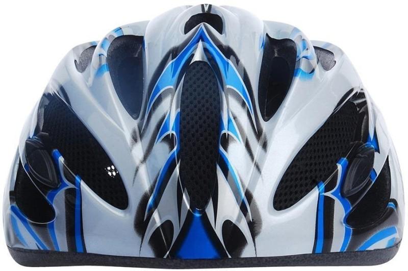Nivia Helments Skating Helmet(Silver, Blue)