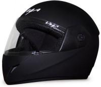 Vega Cliff DX Motorbike Helmet(Dull Black)