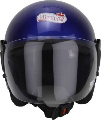 Stranger jack wvp Motorbike Helmet - L(Nevy blue)