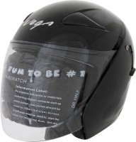 Vega Eclipse Motorsports Helmet - M(Gloss Black)
