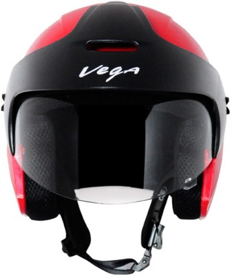 Vega Ridge With Peak Motorsports Helmet(Red)