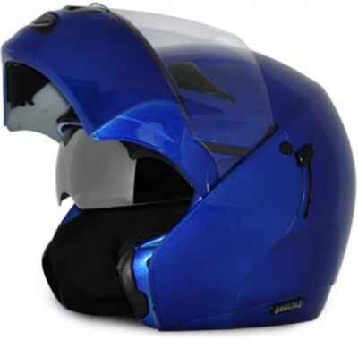Vega Boolean Blue Motorbike Helmet - M