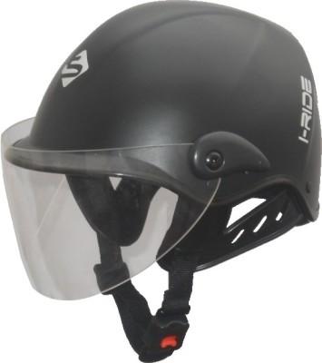 Saviour I-Ride Matt Unisex Clear Visor Motorbike Helmet - M