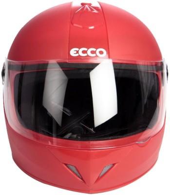 Format Eeco Red Motorbike Helmet - M