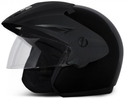 Vega Cruiser With Peak Motorbike Helmet - M
