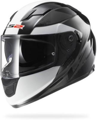 LS2 Dual Visor And Air Pump Stinger Motorbike Helmet - L