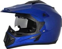Vega Off Road D/V Monster Motorsports Helmet - M(Gloss Blue)