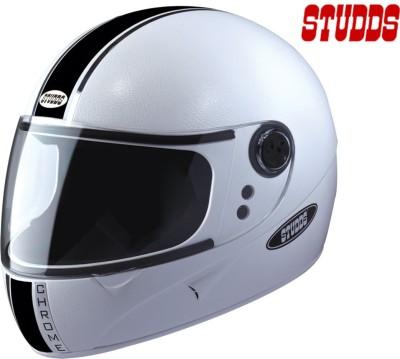 Studds Chrome Eco Motorsports Helmet - L