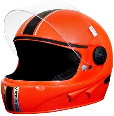 Pik-Up Full Face ISI Red Motorbike Helmet - M