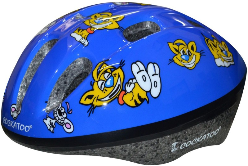 Cockatoo Large Skating Helmet(Blue, Lion)