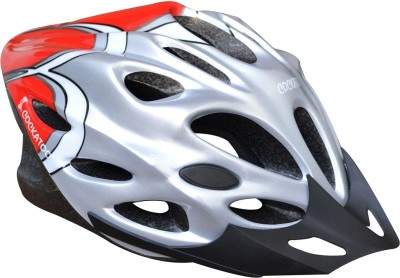 Cockatoo Red Grey Cycling, Skating Helmet - M
