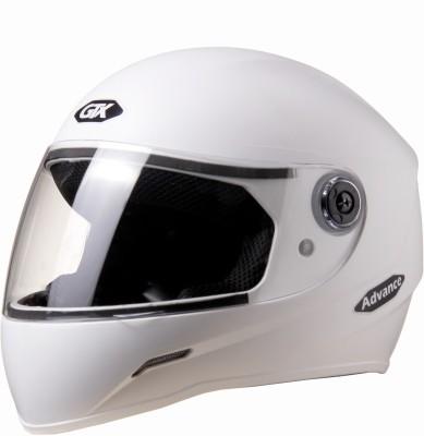 Saviour GTX Motorbike Helmet - M(White)
