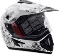 Vega Off Road Sketch Motorsports Helmet - M