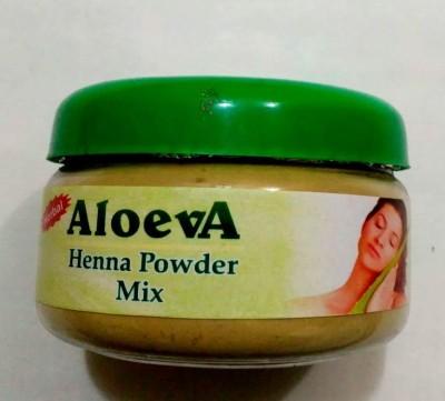 Aloeva Herbal Aloe-Vera Henna Powder MIx