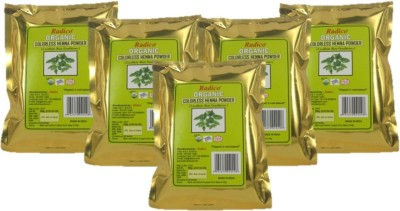 Radico Organic Colorless Henna Powder 5 In One