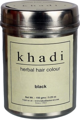 Khadi Natural Herbal Hair Color - Black(150 g)