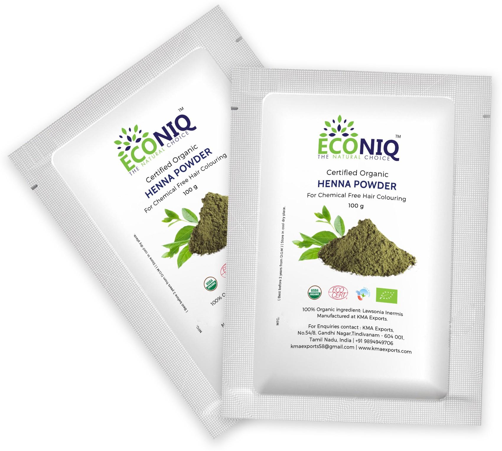 Econiq Henna leaf powder for hair(200 g)