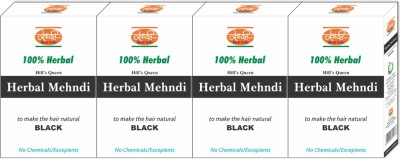 Khadi Natural Hill's Queen Herbal Mehndi Black