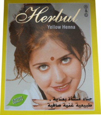 Allin Exporters Yellow Henna Dye / Color - Excellent Color & Hair Care Remedy(60 g)