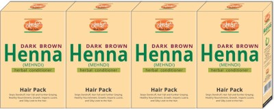 Khadi Natural Dark Brown Henna (Hair Pack)