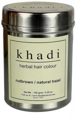 Khadi Natural Herbal Hair Color- Nut Brown(150 g)