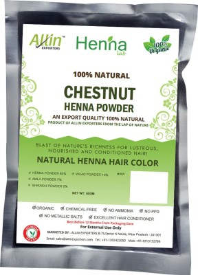 Allin Exporters Natural Chestnut Henna Hair Color(60 g)