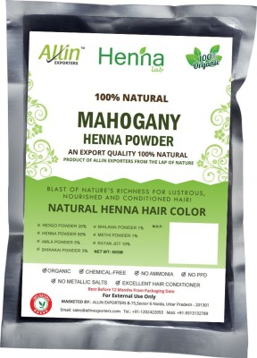 Allin Exporters Natural Mahogany Henna Hair Color(60 g)