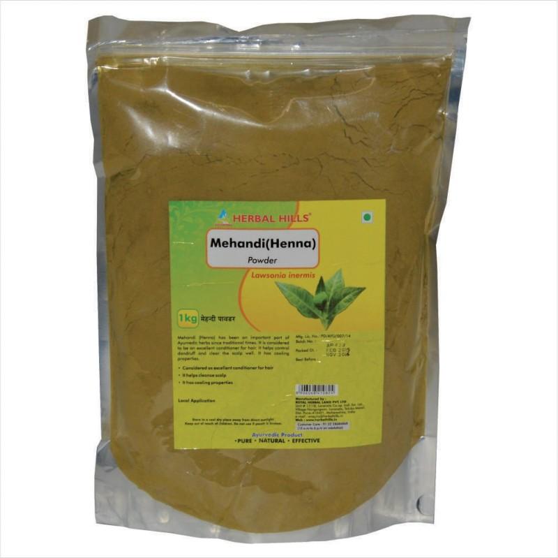 Herbal Hills Henna Powder - 1 Kg Pouch(1000 g)