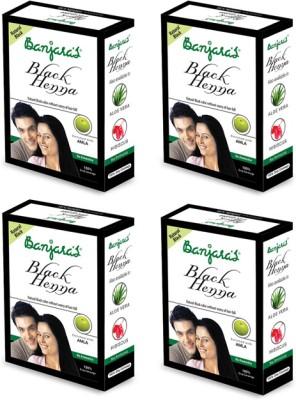 Banjaras Black Henna With Amla 50 G set of 4 pack
