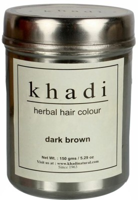 Khadi Herbal Herbal Hair Color Dark Brown(150 g)