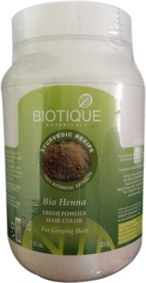 Biotique Bio Henna Fresh Power Hair Color For Greying Hair