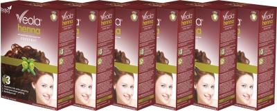 Veola Chestnut Henna Herbal Hair Colour