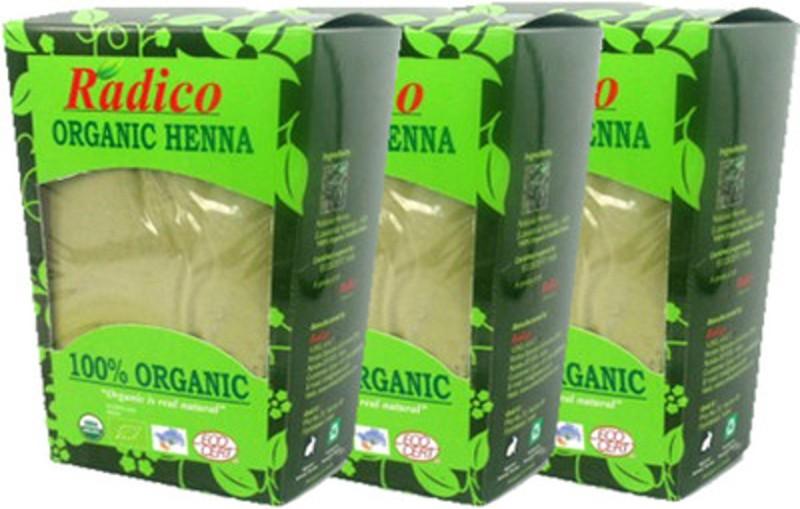 Radico Organic Henna (Pack Of 3)(300 g)