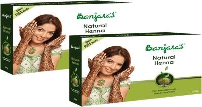 Banjaras Natural Henna 2 Packs