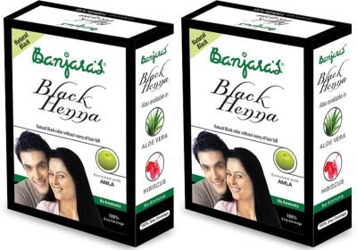 Banjaras Black Henna With Amla 2 Packs