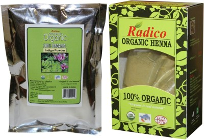 Radico Organic Henna & Indigo Combo