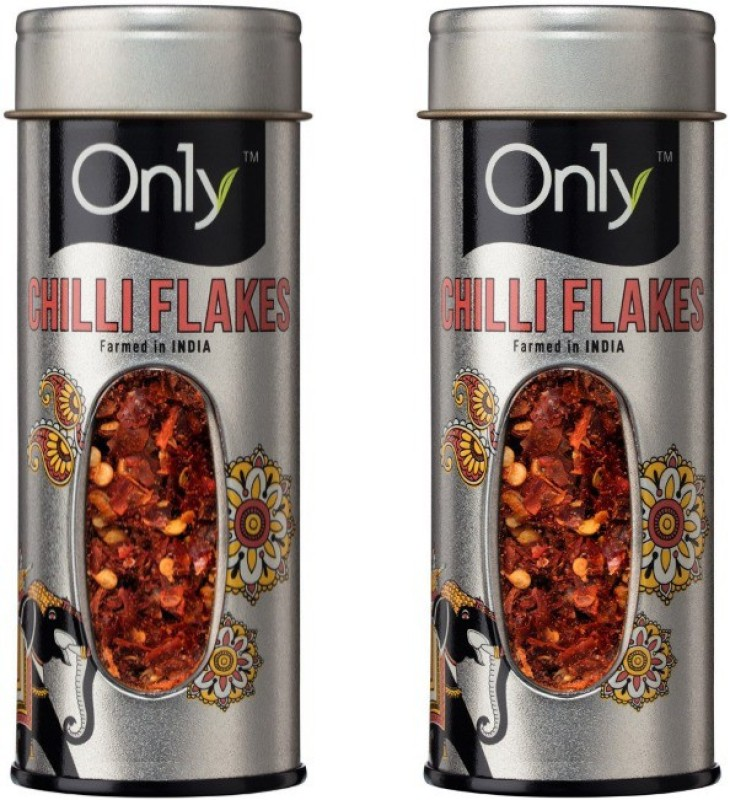 On1y Chilli Flakes 50 gm (Pack of 2) Seasoning(50 g)