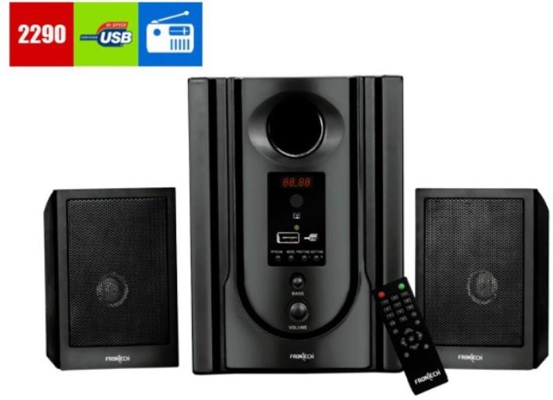 FRONTECH JIL-3365 Fm And Usb Player Hi-Fi System(Black)