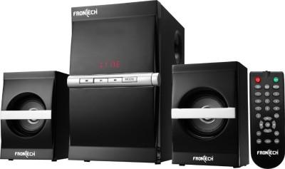Frontech JIL-3915 Micro Hi-Fi System(Black, Silver)