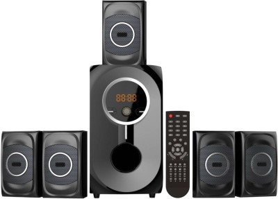 MAK Tech 5.1 Channel Bluetooth 80 Watts RMS With USB , MMC & FM Radio K910FM-UMB Mini Hi-Fi System