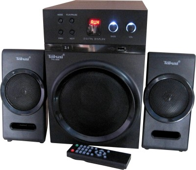 Takai 2.1 USB-mp3 Home Audio System with Super Bass Technology Mini Hi-Fi System