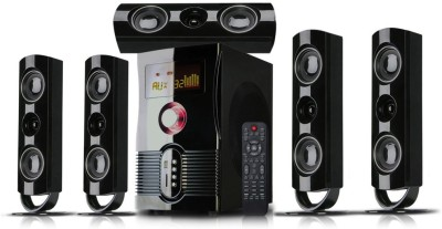 Mak Tech 5.1 Channel 100 Watts Rms With Bluetooth Usb , Mmc & Fm Radio-Mak-500ht Mini Hi-Fi System