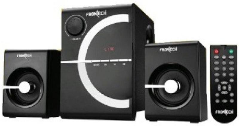 Frontech jil-3914 2.1 Subwoofer System Hi-Fi System(Black)