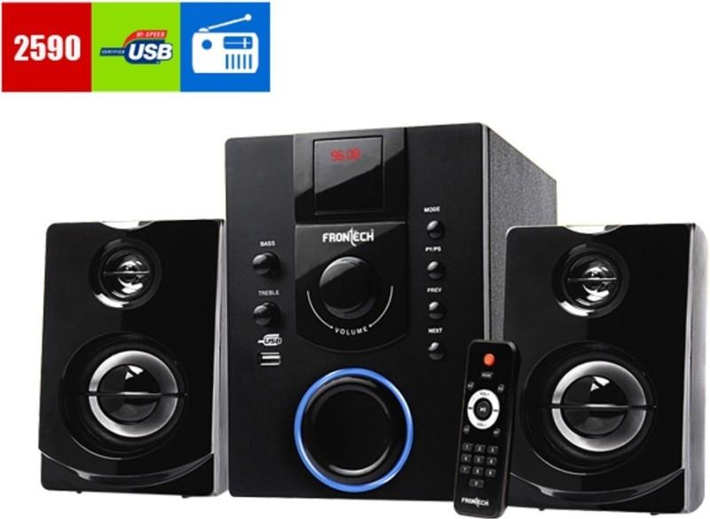 Frontech jil-3901 Audio Player Hi-Fi System(Black)