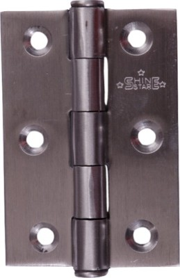 SHINE STAR H123 Butt/Mortise Hinge(Silver Pack of 1)